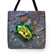 Green Junebug Tote Bag