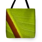 Green Leaves Series  8 Tote Bag