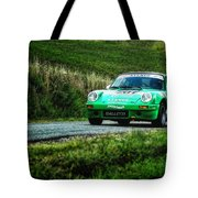 Green Porsche Tote Bag