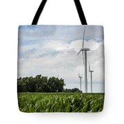 Green Power Tote Bag