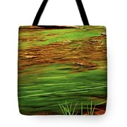 Green River Tote Bag by Elena Elisseeva