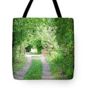 Green Road Tote Bag