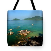 Green Sea Tote Bag