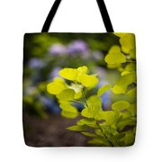 Leaves Illumination Tote Bag