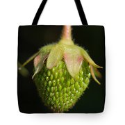 Green Strawberry Tote Bag