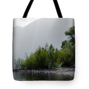 Green Trees Tote Bag