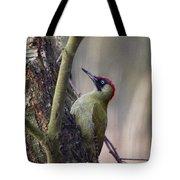 Green Woodpecker Tote Bag