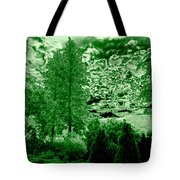 Green Zone Tote Bag by Will Borden