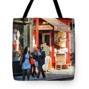 Greenwich Village Bakery Tote Bag