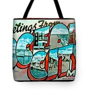 Greetings From Oc Tote Bag by Skip Willits