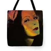 Greta Garbo Pop Art Tote Bag