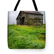 Grey County Barn Tote Bag