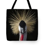 Grey Crowned Crane Balearica Regulorum Tote Bag