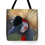 Grey-crowned Crane Tote Bag