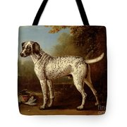 Grey Spotted Hound Tote Bag