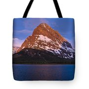 Grinnel Point At First Light Tote Bag