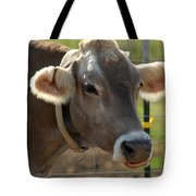 Grinning Cow Tote Bag