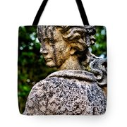 Gritty Profile Tote Bag