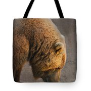Grizzly Hanging Head Tote Bag
