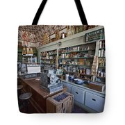 Grocery Store Of Yesteryear - Virginia City Montana Ghost Town Tote Bag