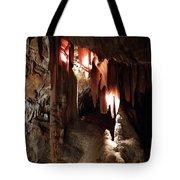 Grotte Magdaleine South France Region Ardeche Tote Bag