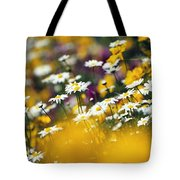 Group Of Daisies Tote Bag