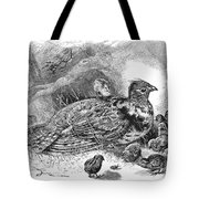 Grouse And Young Tote Bag