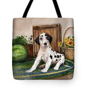 Growing Fast Tote Bag by Nancy Patterson