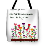 Growing Hearts Tote Bag