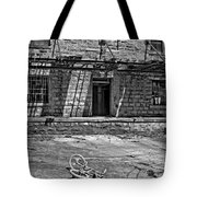 Growing Up...an Economics Tale Bw Tote Bag
