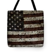 Grungy Wooden Textured Usa Flag2 Tote Bag