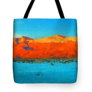 Guadalupe Mountains Sunset Tote Bag