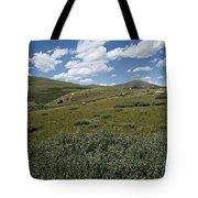 Guanella Pass Slopes Tote Bag by Michael Kirsh