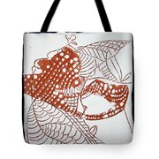 Guardian Angel - Tile Tote Bag