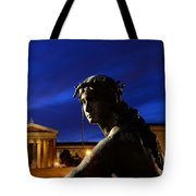 Guardian Angel Of Art Tote Bag by Paul Ward