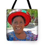 Guatemalan Village Woman Tote Bag
