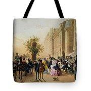 Guerard: Cafe Tortoni, 1856 Tote Bag