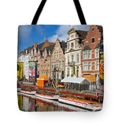 Guild Houses Tote Bag