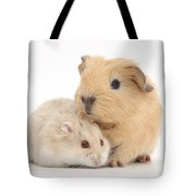 Guinea Pig And Hamster Tote Bag