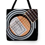 Guitar Abstract 1 Tote Bag