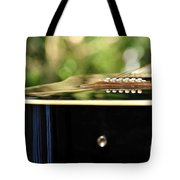 Guitar Abstract 3 Tote Bag