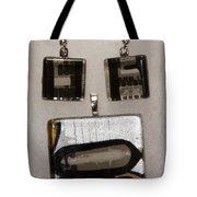Guitar Glass Tile Set Tote Bag