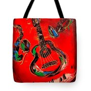 Guitar Jazz Tote Bag