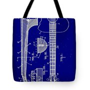 Gibson Guitar Truss Rod Patent 1923 Tote Bag