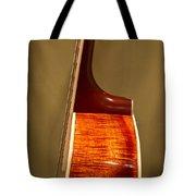 Guitar Wood Grain Exposed Tote Bag