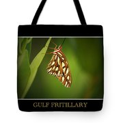 Gulf Fritillary 2 Tote Bag