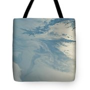 Gulf Of Mexico Oil Spill From Space Tote Bag