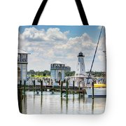 Gulfport Harbor Tote Bag