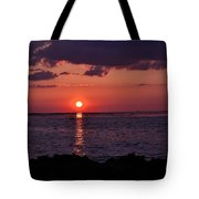 Gulfview Sunset Tote Bag