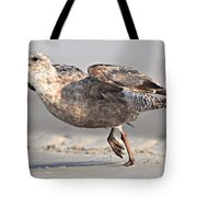 Gull Taking Off Tote Bag